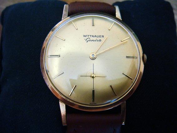Fino Reloj Wittnauer Geneve 10m 190/406 Extraplano Swiss