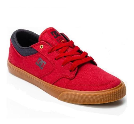 Tênis Dc Shoes Vermelho Nyjah Vulc Tx Red Masculino Original