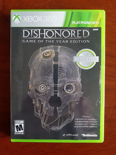 Xbox 360 Dishonored Game Of The Year Edition Canje
