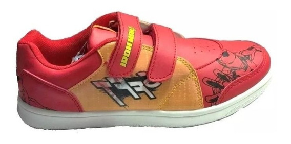Zapatillas Marvel Iron Man Velcro