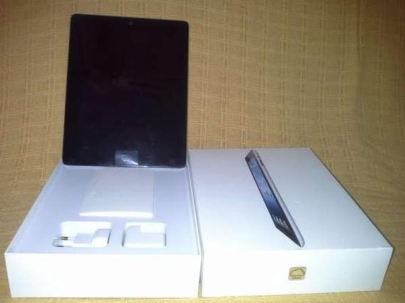 iPad 3 32gb Icloud Em Meu Nome, Na Caixa Com Teclado