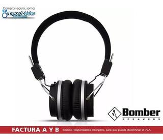 Auriculares Bomber Quake Hb02 Negro Oferta !!