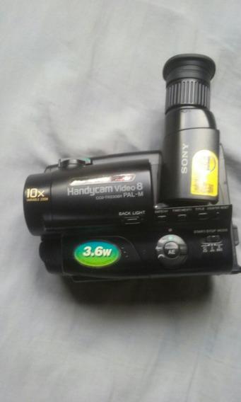Camera Filmadora Sony Handycan Modelo Antigo