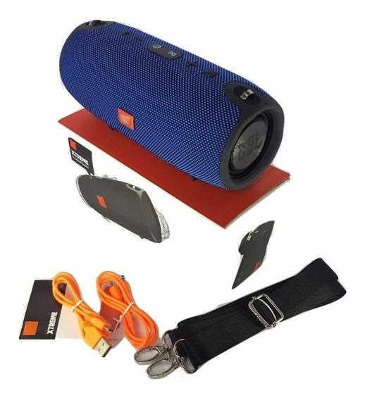 Caixa De Som Xtreme 40w Bluetooth, Fm, Usb- Potente Envio Já