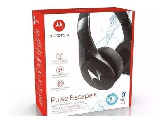 Fone De Ouvido Bluetooth Motorola Pulse Escape + Preto