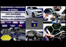Blindaje Automotriz. Mecánica, Latonería Y Pintura.