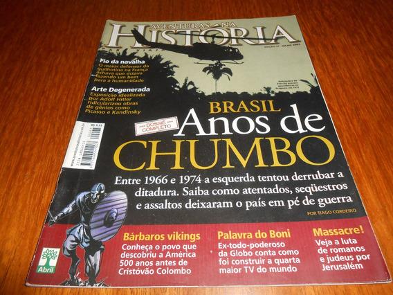 Revista Aventuras Na Historia: Brasil Anos De Chumbo.