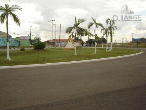 Terreno Residencial À Venda, Bela Vista, Paulinia. - Te1258