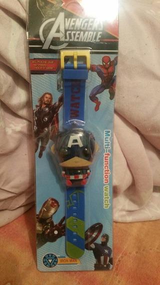 Reloj Infantil Capitan America