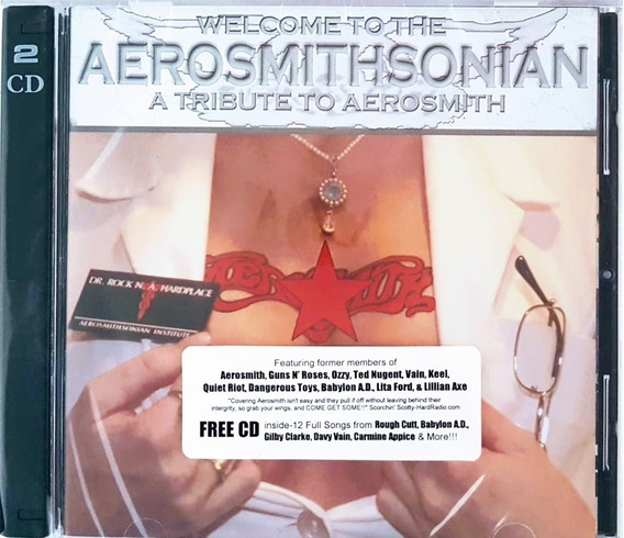 Cd Duplo Aerosmithsonian - A Tribute To Aerosmith - Lacrado