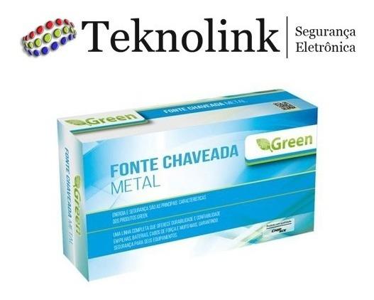 Fonte Chaveada Metal 12v 15a 180w Bivolt Multiuso