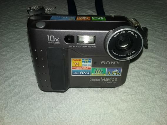 Câmera Digital Sony Mavica Modelo Mvc - Fd73