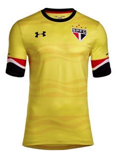 Camisa São Paulo Lugano Nº 5 Under Armour Iii 16/17