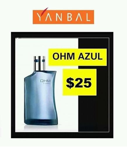 Ohm Azul Yanbal 100% Original