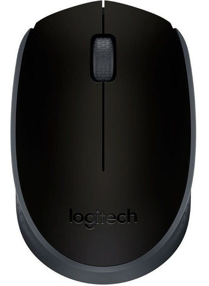 Mouse Logitech Wireless M170 Preto 25565