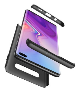 Funda Luxury 3 En 1 Galaxy S10e S10 S10 Plus 360 Gkk Rígidas Antideslizant