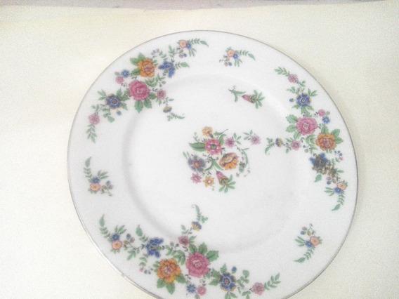 Plato Frances Decorativo De Ceramica Pintado A Mano