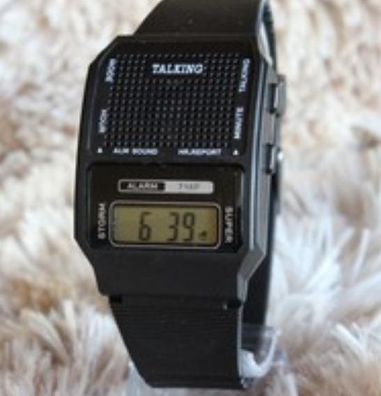 Relógios Pulso Deficiente Visual Que Fala Horas Em Português