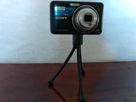 Câmera Sony Ciber Short 12.1 Preta