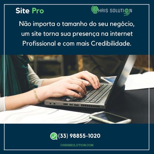 Imagem 1 de 4 de Site Pro Para Seu Negócio