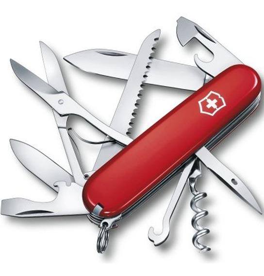 Canivete Suiço Original Victorinox Huntsman 15 Funções Verm