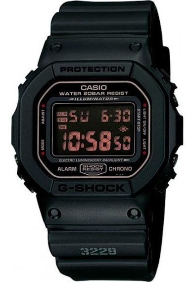 Relógio Casio G-shock Dw-5600ms-1dr Resistente A Choques Nf