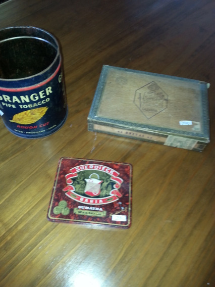 Latas Antiguas Para Cigarros Toscanos