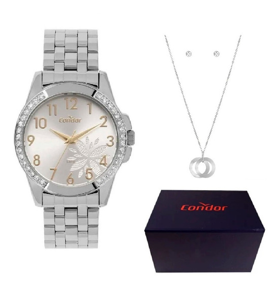 Relógio Condor Feminino Barato Original + Brinde Dj0120