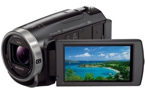 Filmadora Sony Hdr-cx675 Full Hd 32gb Wi-fi Hdmi 12x S/juros