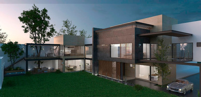 Residencia Privada, Elegante Arquitectura, 4 Recámaras