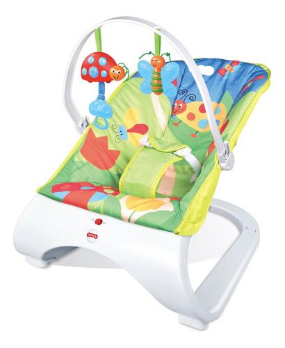 Cadeira Cadeirinha Bebê Descanso Vibratória Musical Menino