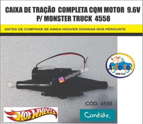 Imagem 1 de 2 de Monster Truck 4558 -hot Wheels - Só Caixa De Tração  9.6v