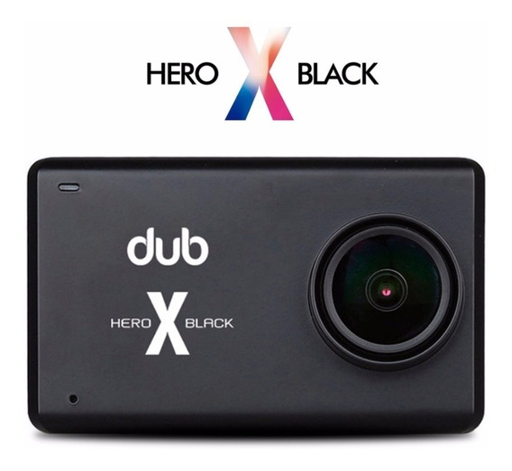 Camera Dub Hero X Black 4k
