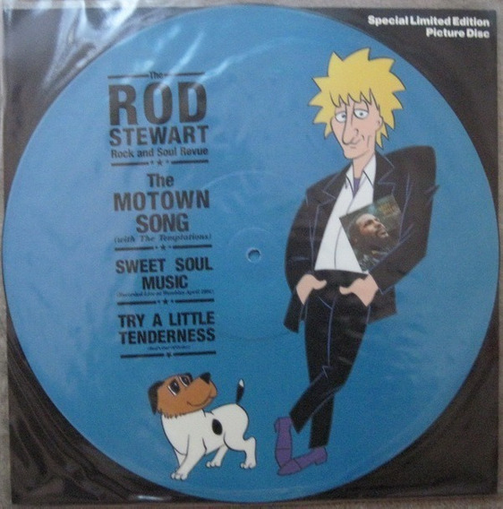 Rod Stewart - The Motown Song Vinilo Picture Disc Made Uk!!