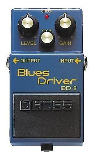 Pedal Boss Bd-2 Blues Driver Oferta! Promoção! Envio Já!