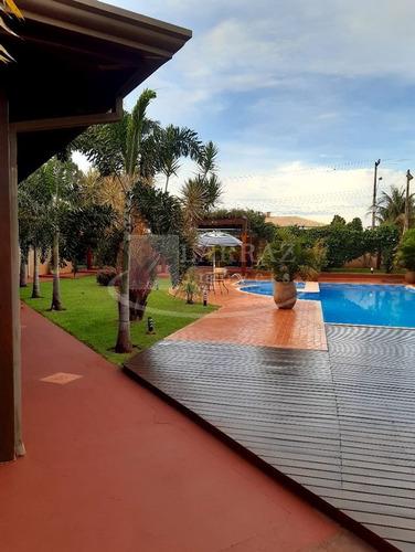 Chacara Mobiliada Em Jardinopolis, Condominio Village 2, 3 Suítes Sendo1 Master, Piscina E Salão Gourmet Em 2.000 M2 De Area Total - Ch00051 - 68999436