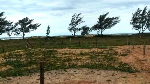 Terreno No Balneário Esplanada Na Beira Mar (segunda Quadra)