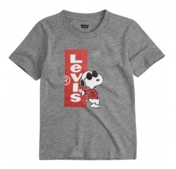 Playera Para Niñ@s Diseño Snoopy Joe Cool Levi