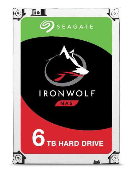 Disco rígido interno Seagate IronWolf ST6000VN0033 6TB