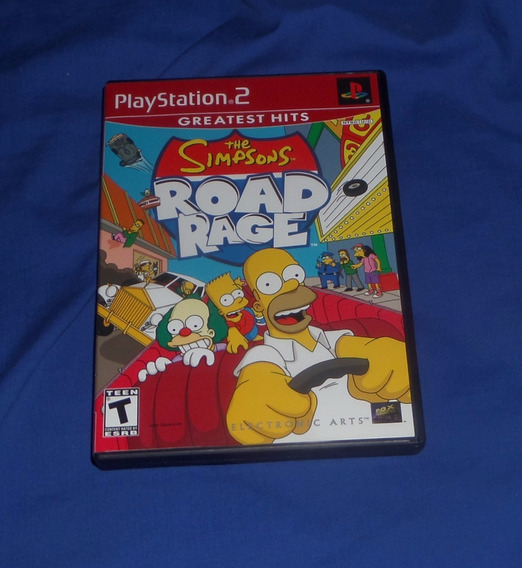 The Simpsons Road Rage Original Ps2 Excelente Estado