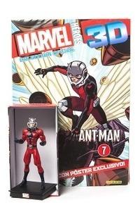 Figura Marvel Heroes 3d # 08 2017 Antman - Autores Varios