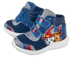 Tenis Sneaker Cklass Bota Niño Paw Patrol Tex Azul 94108 Dtt