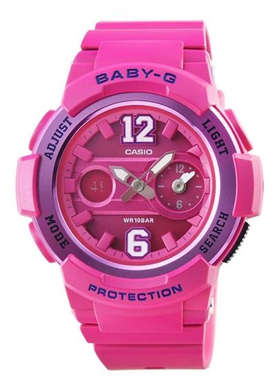 Relógio Casio Baby-g Ana-digi Bga-210-4b2dr