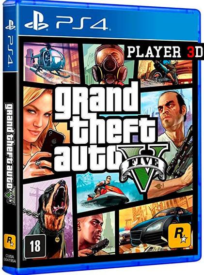 Grand Theft Auto V Gta 5 - Ps4 Psn Mídia Digital - Primaria