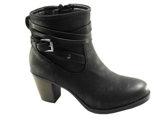 Botas Mujer Invierno Zapatos Massimo Chiesa Taco Palma