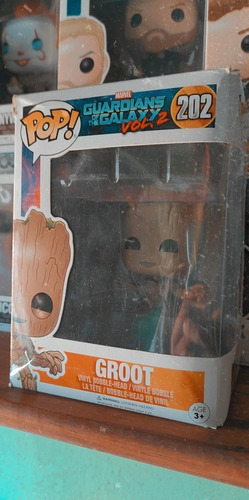 Funko Pop Groot #202 - Con Detalles