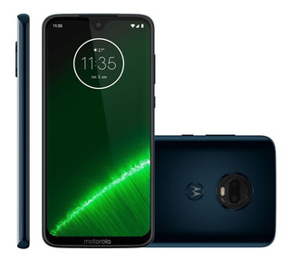 Celular Motorola Moto G7 Plus Indig Tela 6.2 64gb +película