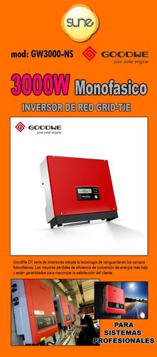 Energía Solar Inversor De Red Grid-tie 3000w