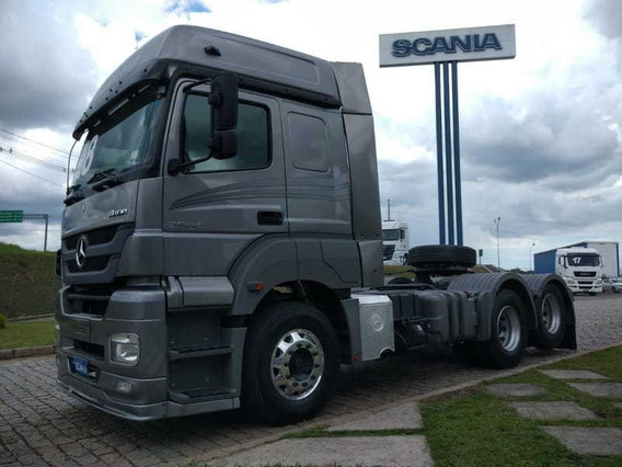 Mb Axor 2544, 6x2, 2018 Scania Seminovos Pr