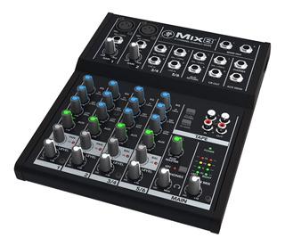 Mixer Consola Mackie Mix8 8 Canales, 2 Xlr (c/phantom)